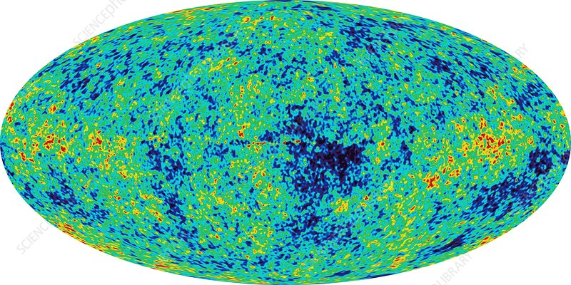 MAP microwave background