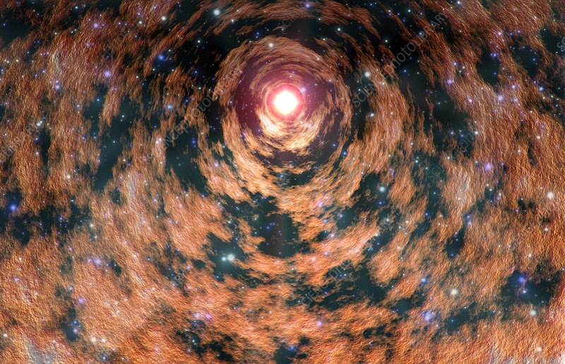 Wormhole Stock Image R980 0161 Science Photo Library