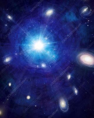 dark matter without big bang -#main