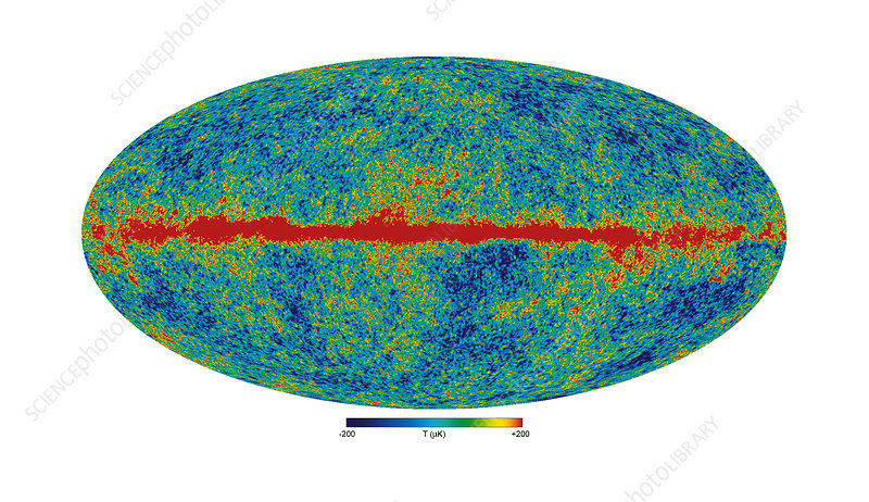 Cosmic and galactic microwave background