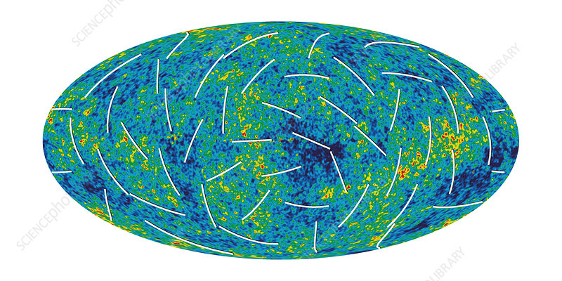 Cosmic microwave background, MAP image