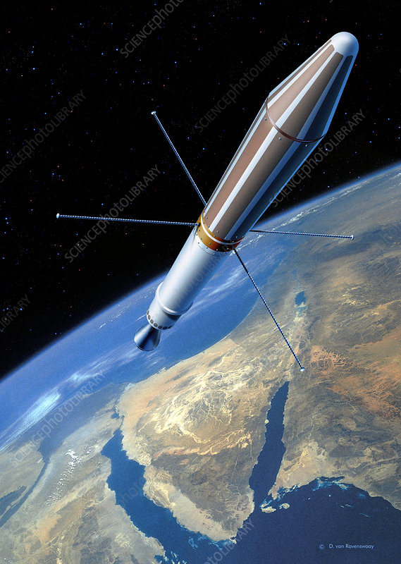 Explorer 1 in orbit