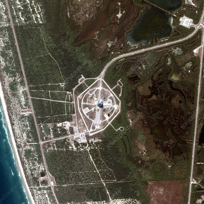 Cape Canaveral, launch pad 40