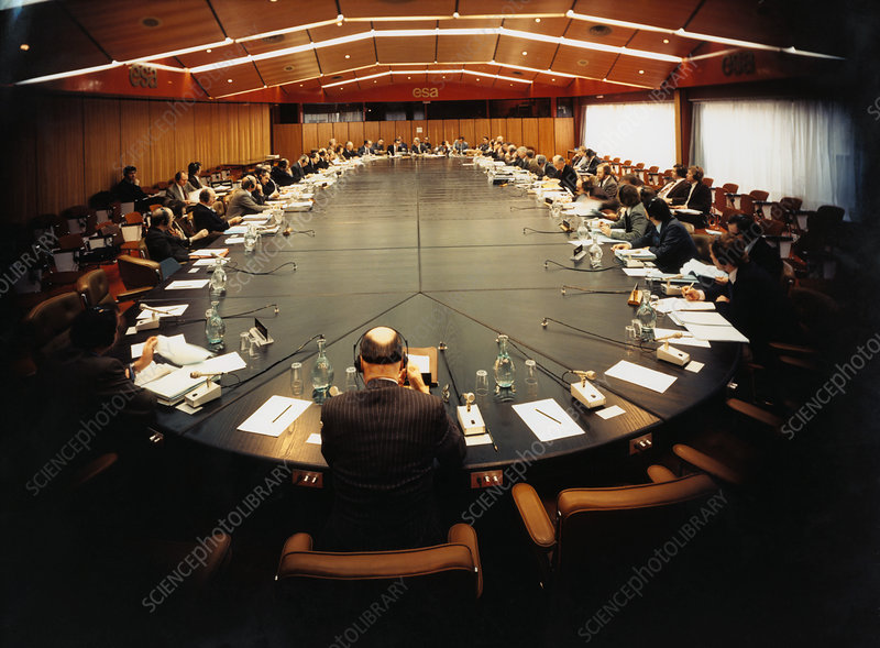 ESA Council in session