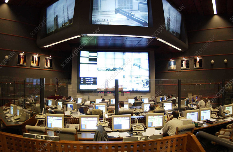 ESA spaceport control room
