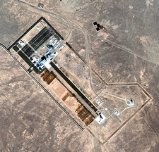 Jiuquan space launch facility, China