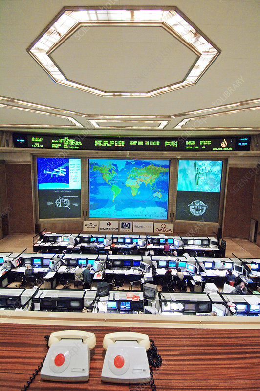 Russian space mission control centre
