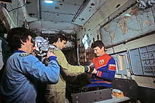 Third Salyut 7 space station crew, 1984