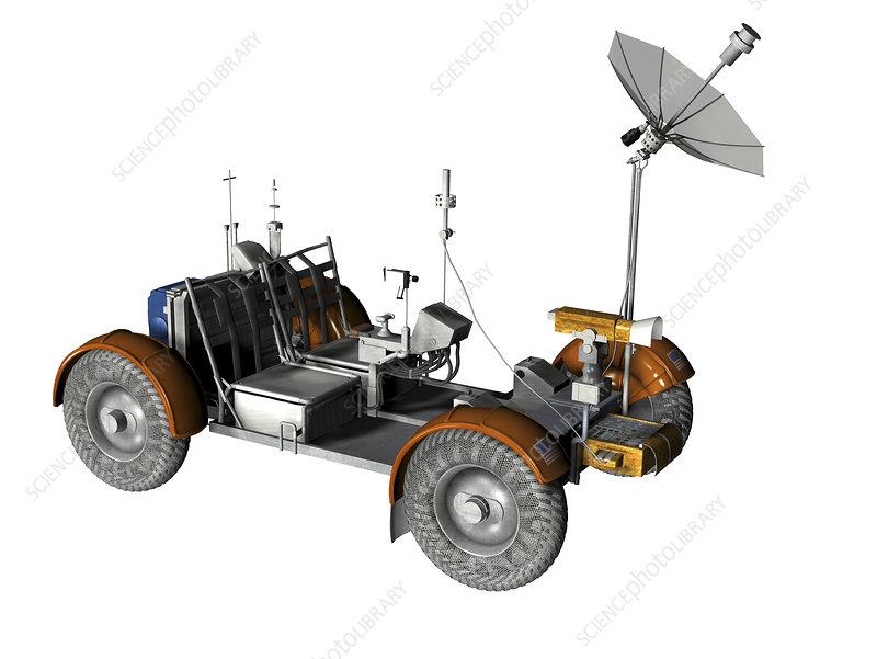 Lunar rover, artwork