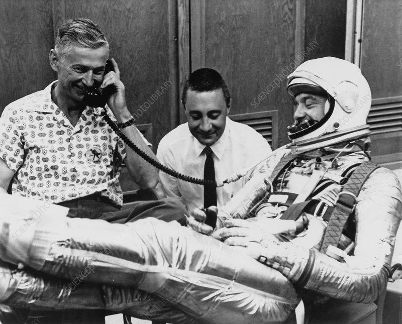 Mercury astronaut, Alan Shepard - Stock Image S320/0004 ...