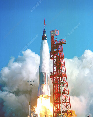 Friendship 7 launch, 1962