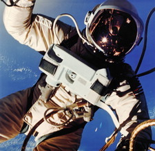 First American space walk