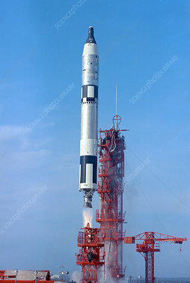 Gemini 6A launch