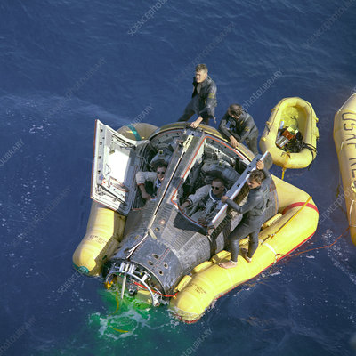 Gemini 8 mission rescue