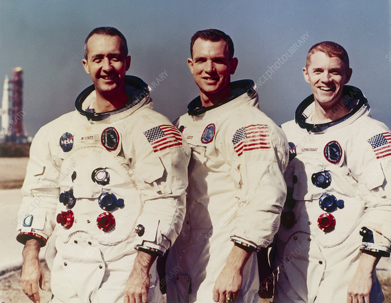 Astronauts of Apollo 9 mission