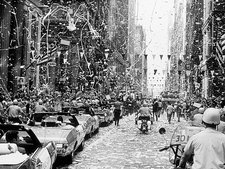 Apollo 11 astronauts in Chicago welcome parade