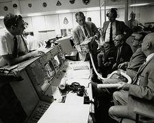 NASA team discuss Apollo 13 CO2 problem