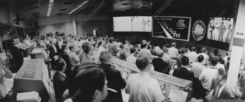 Mission Control, Houston, after Apollo 13 mission