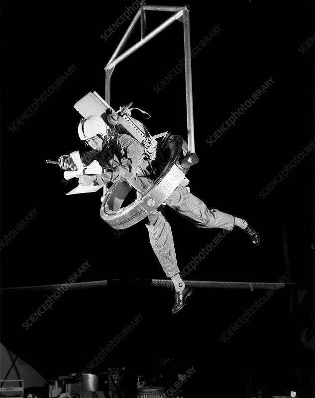 Apollo astronaut training, 1967