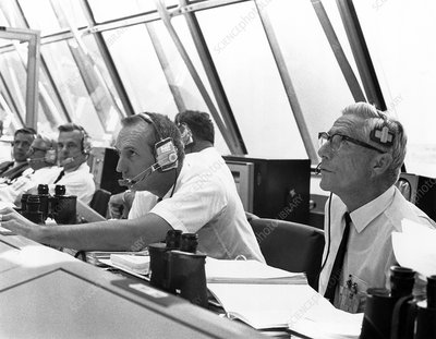Apollo 11 launch control room
