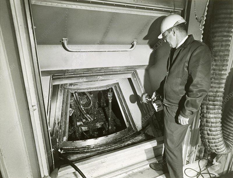 Fire damaged Apollo 1 capsule