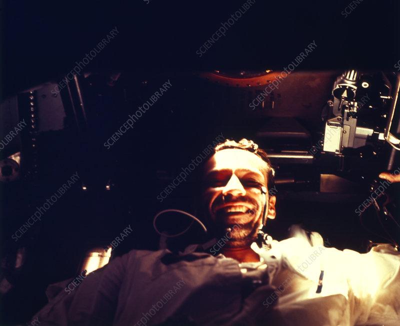 Apollo 7 pilot Donn Eisele