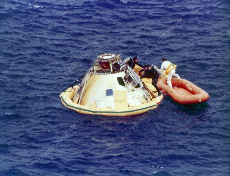 Apollo Capsule Splash Down (page 3) - Pics about space