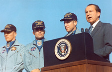 Crew of Apollo 13 with President Nixon in Hawaii