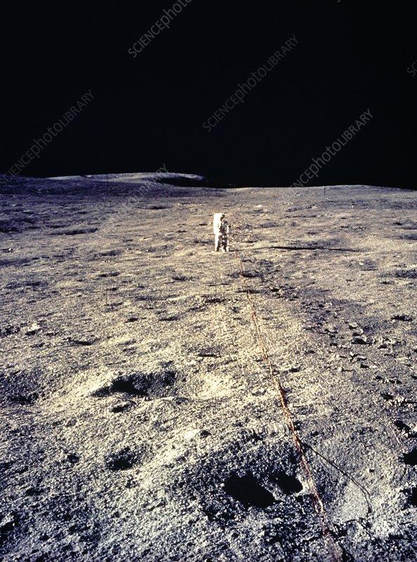 Apollo 14 astronaut Edgar Mitchell during