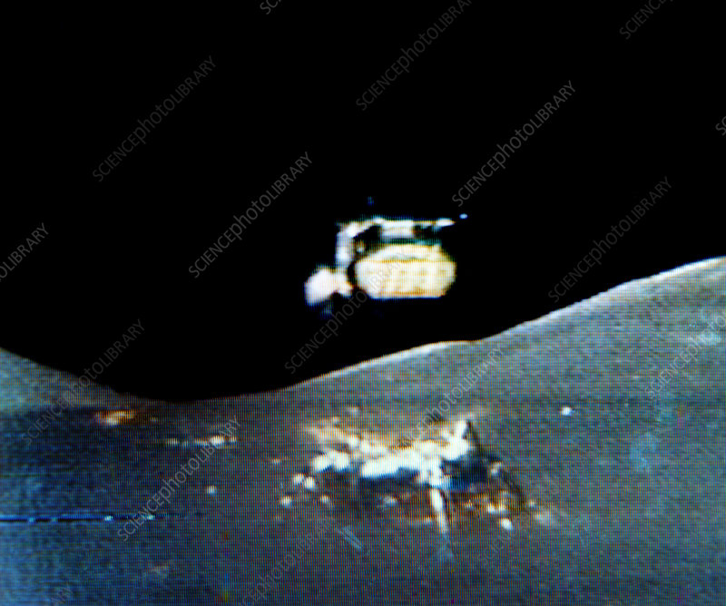 Departure of Apollo 17 from Moon