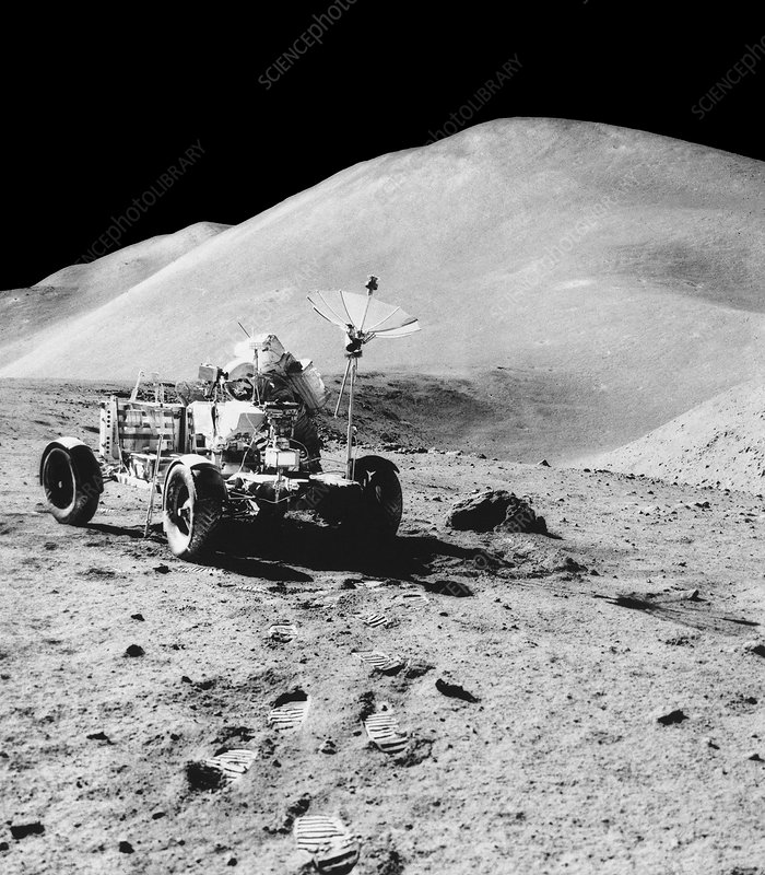 Lunar Roving Vehicle of Apollo 15