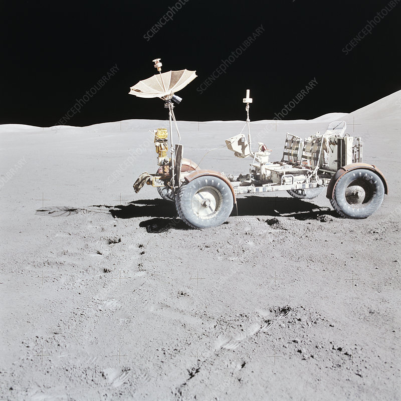 Lunar Roving Vehicle during Apollo 15, August 1971
