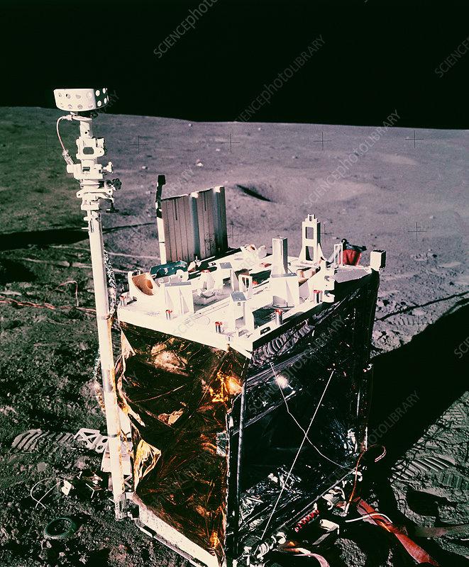 Apollo 14 lunar central station