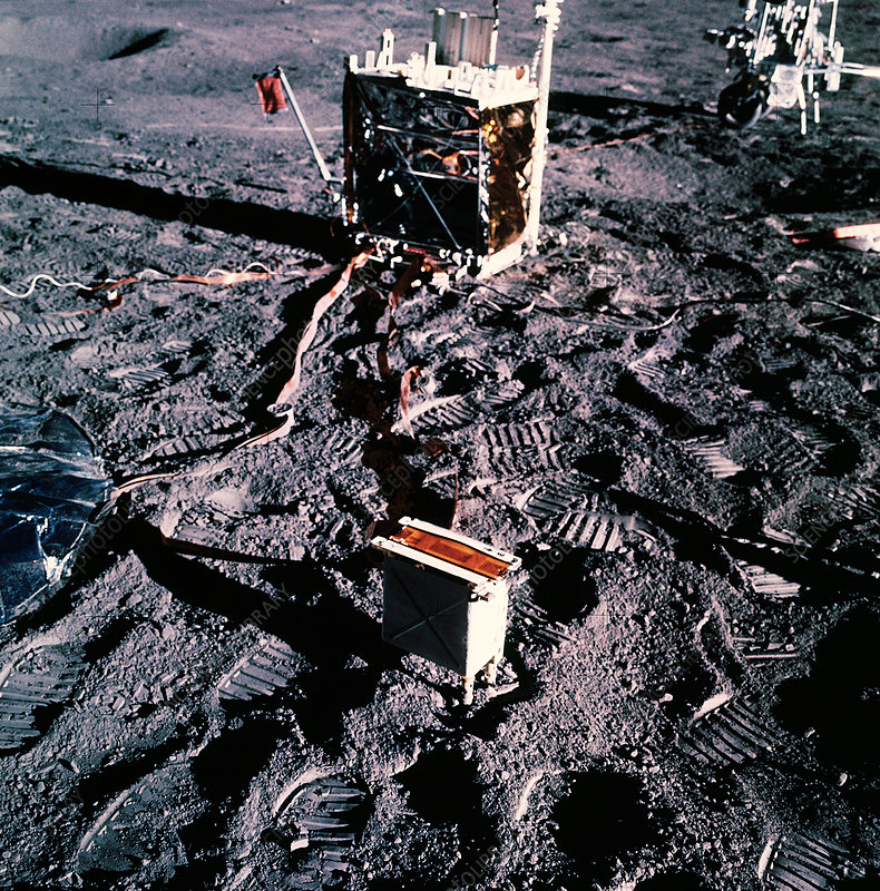 Apollo 14 lunar experiments