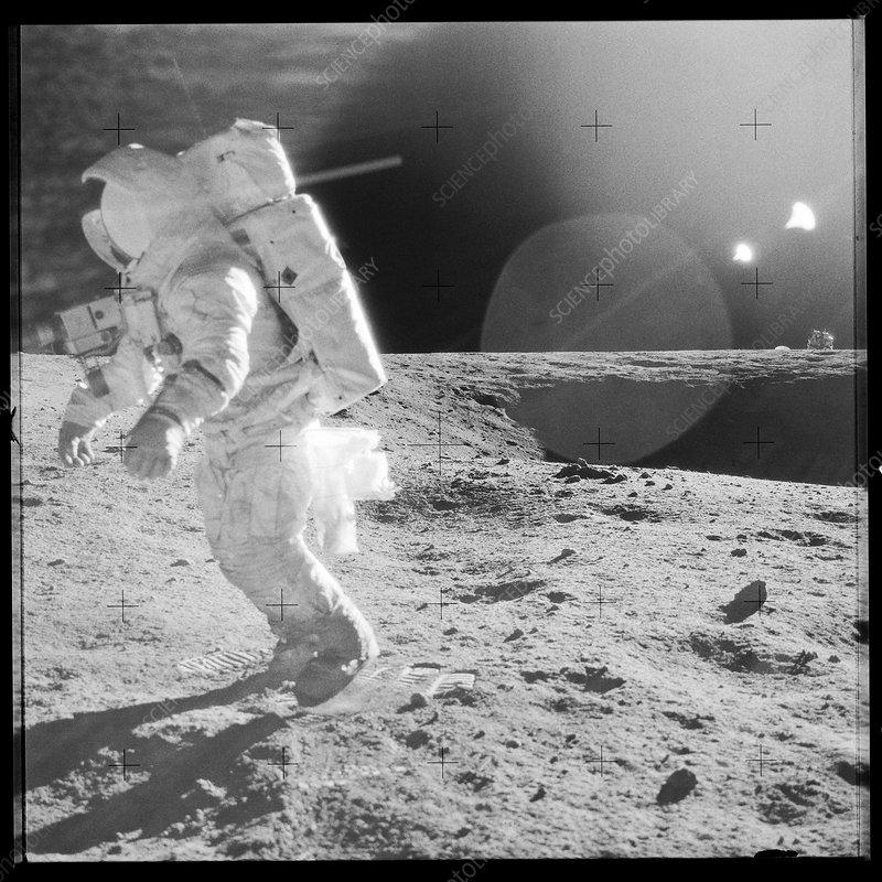 astronauts jumping on the moon - photo #16