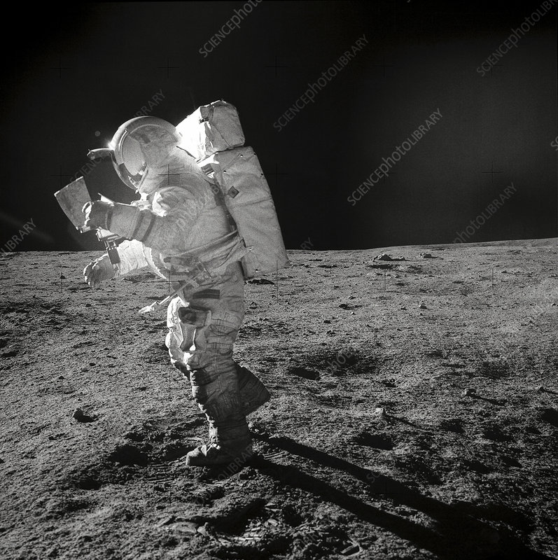 astronauts jumping on the moon - photo #13