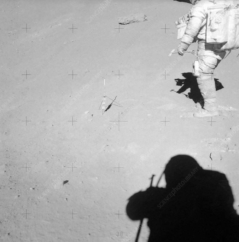 Genesis rock on the Moon, Apollo 15