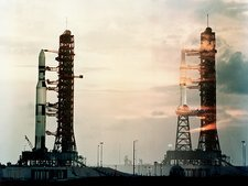 Skylab 1 and skylab 2 rockets