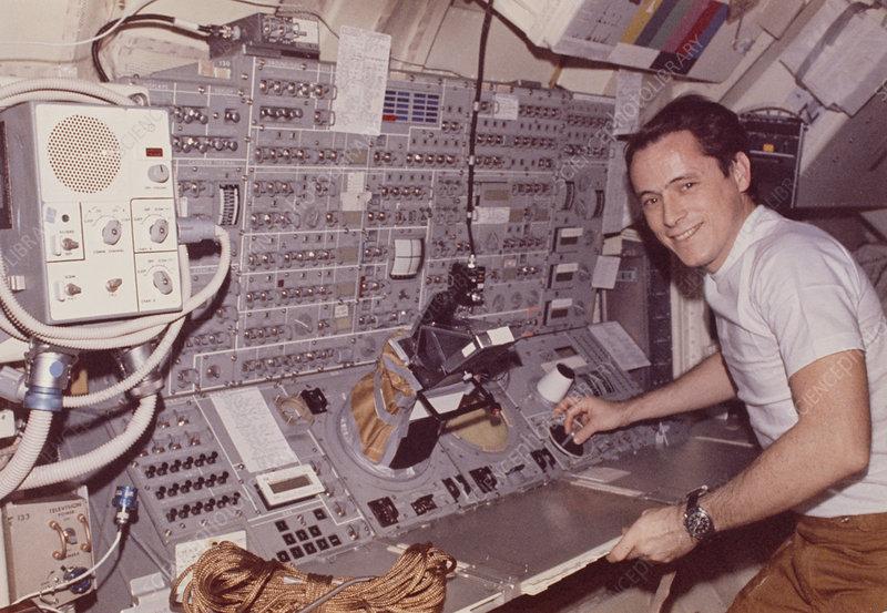 Skylab 4 astronaut science pilot