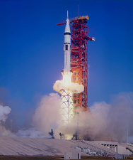 Launch of Skylab 4