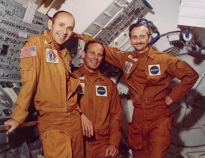 Skylab 3 astronauts
