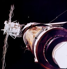 Skylab 2 in space