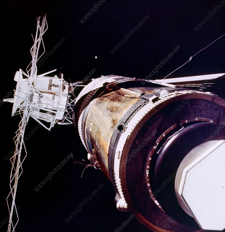 Skylab 2 in space