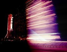 Launch of Saturn rocket for Skylab 4