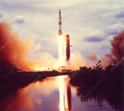 Launch of Skylab space station