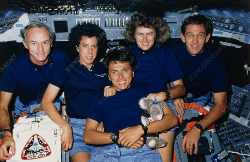 Crew of Space Shuttle mission STS-34