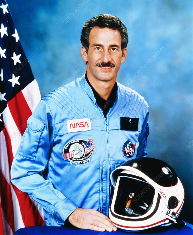 Portrait of astronaut jeffrey hoffman