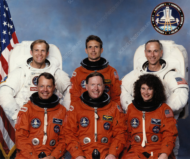 Space Shuttle crew of STS-64