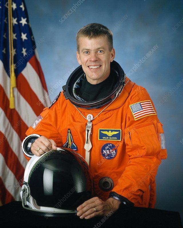 Shuttle disaster astronaut McCool