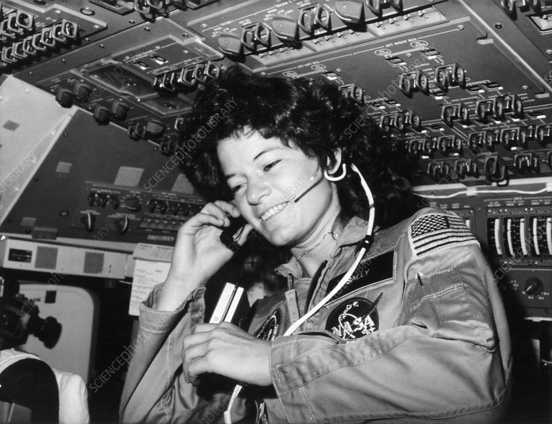Space Shuttle astronaut Dr Sally Ride